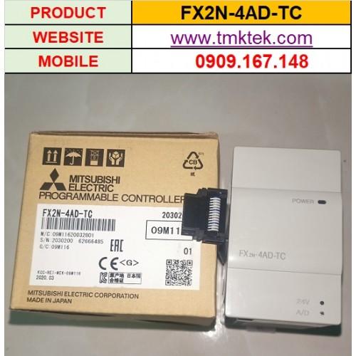Module mở rộng PLC Mitsubishi FX2N-4AD-TC