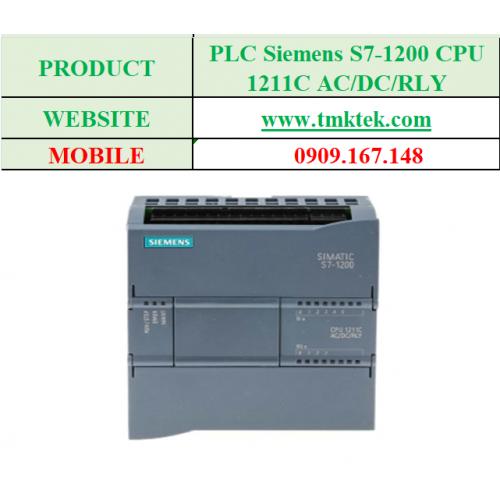 PLC Siemens S7-1200 CPU 1211C AC/DC/RLY