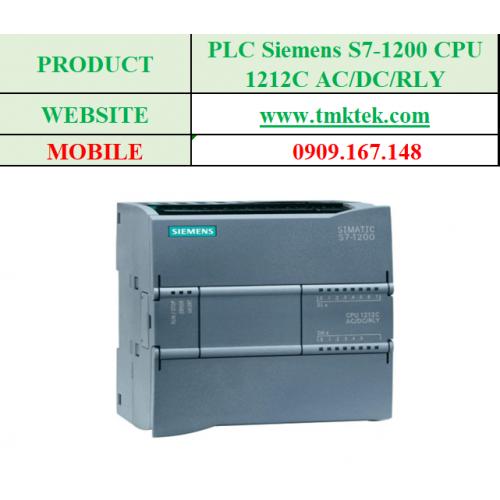 PLC Siemens S7-1200 CPU 1212C AC/DC/RLY
