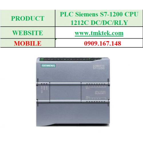 PLC Siemens S7-1200 CPU 1212C DC/DC/RLY