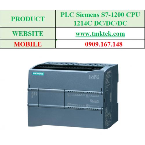 PLC Siemens S7-1200 CPU 1214C DC/DC/DC