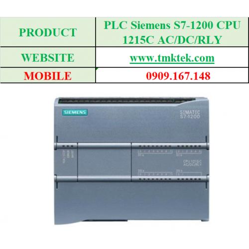 PLC Siemens S7-1200 CPU 1215C AC/DC/RLY