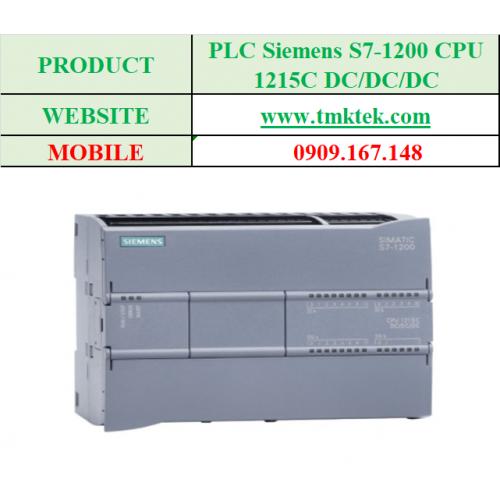 PLC Siemens S7-1200 CPU 1215C DC/DC/DC