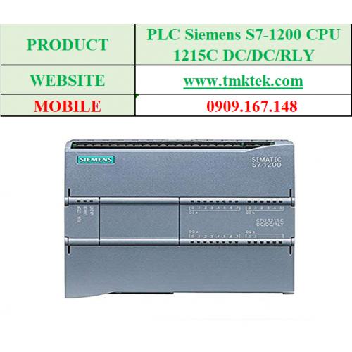 PLC Siemens S7-1200 CPU 1215C DC/DC/RLY