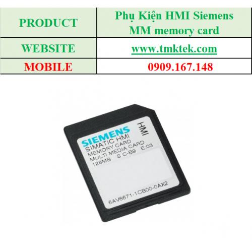 MM memory card