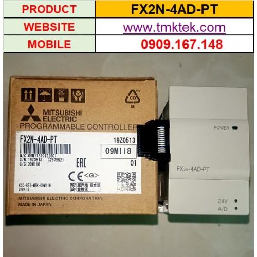 Module mở rộng PLC Mitsubishi FX2N-4AD-PT