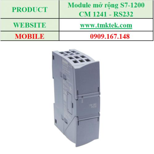 Module mở rộng CM 1241 - RS232
