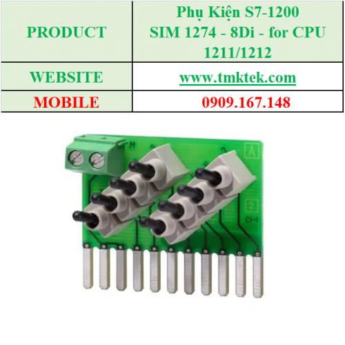 SIM 1274 - 8Di - for CPU 1211/1212