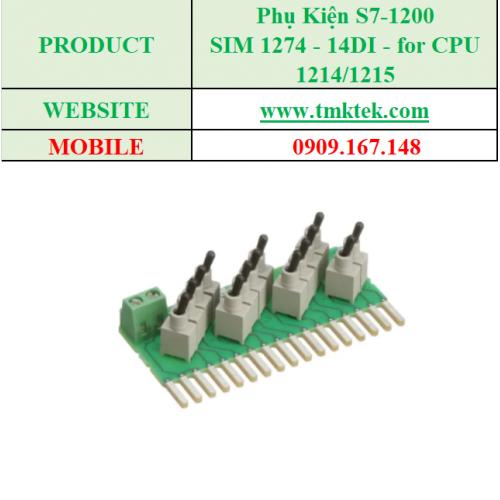 SIM 1274 - 14DI - for CPU 1214/1215