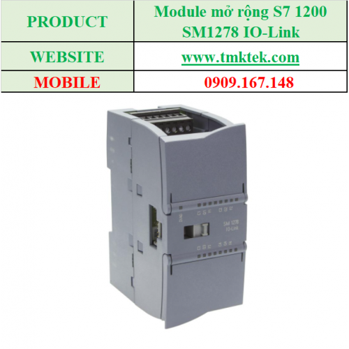 Module mở rộng SM1278 IO-Link