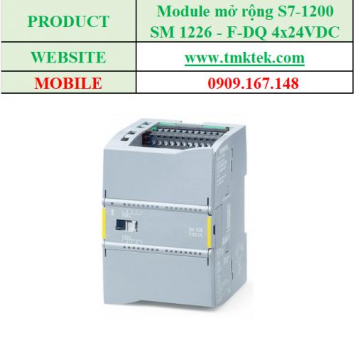 Module mở rộng SM 1226 - F-DQ 4x24VDC