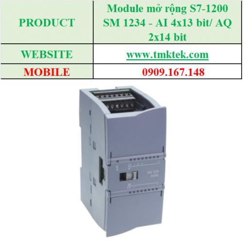 Module mở rộng SM 1234 - AI 4x13 bit/ AQ 2x14 bit