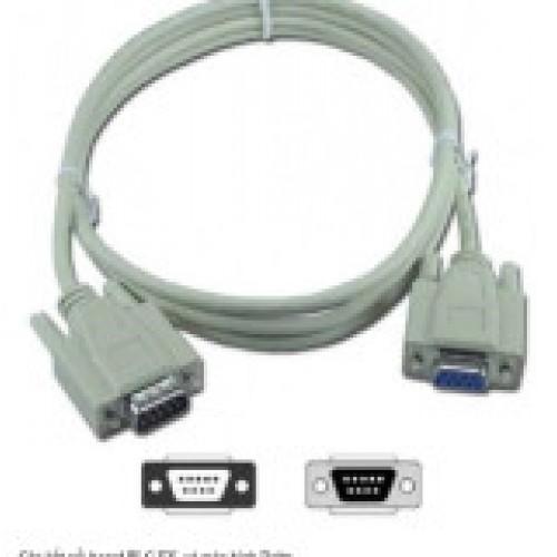 Cáp kết nối HMI DELTA họ DOP-B với board mạch PLC Mitsubishi FX (Dài 4m)