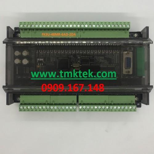 Board PLC Mitsubishi FX3U-48MR-6AD-2DA