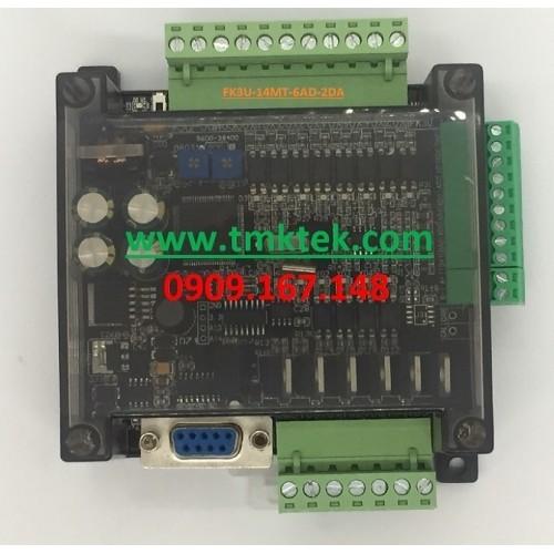 Board PLC Mitsubishi FX3U-14MT-6AD-2DA
