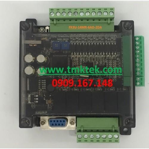 Board PLC Mitsubishi FX3U-14MR-6AD-2DA