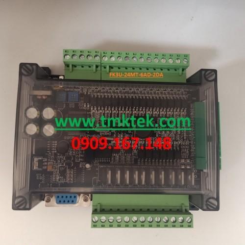 Board PLC Mitsubishi FX3U-24MT-6AD-2DA