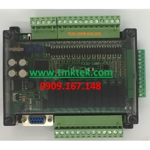 Board PLC Mitsubishi FX3U-24MR-6AD-2DA