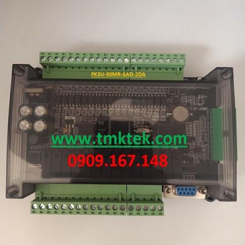 Board PLC Mitsubishi FX3U-30MR-6AD-2DA