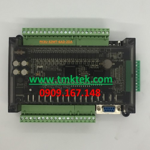 Board PLC Mitsubishi FX3U-32MT-6AD-2DA
