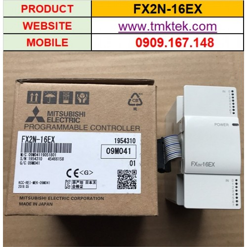 Module mở rộng PLC Mitsubishi FX2N-16EX