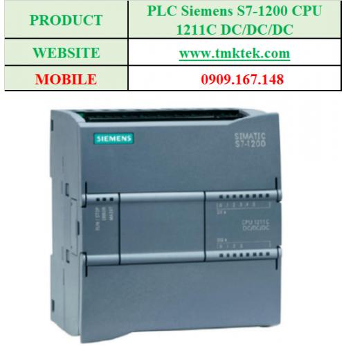 PLC Siemens S7-1200 CPU 1211C DC/DC/DC
