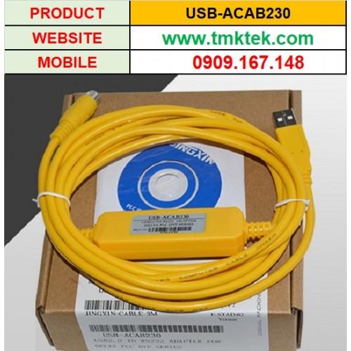 Cáp lập trình PLC Delta USB-ACAB230